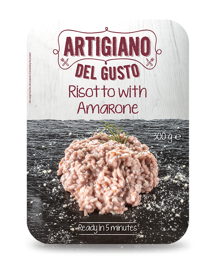Risotto with amarone