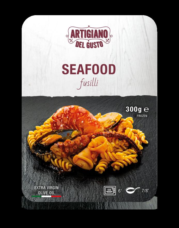 Seafood Fusilli